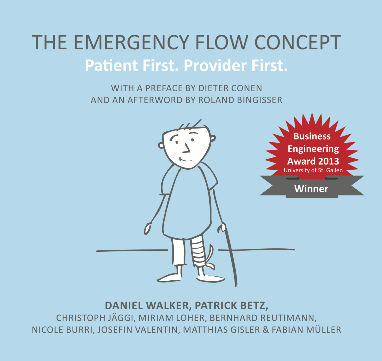 Book: The Emergency Flow Concept – Patient First. Provider First.
